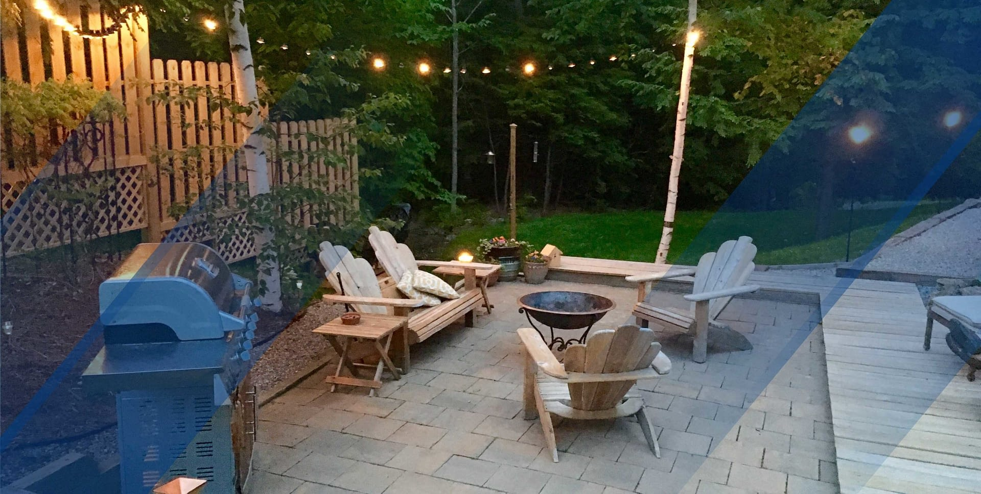 WHY BUY A HOUSE WITH A BIG BACKYARD?